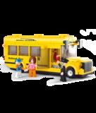 Sluban Bouwblokken Schoolbus