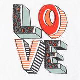 LMJ t-shirt LOVE bij CEMALI