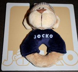 JOCKO rammelaar aapje blauw