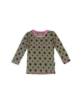Longsleeve PJ-shirt  Army Star