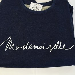 Your Wishes Sweater Mademoiselle Donkergrijs