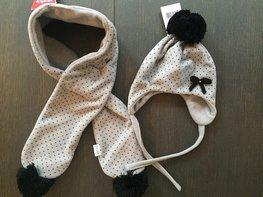 JOCKO set sjaal en muts