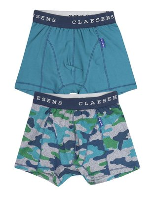 Claesen's Men's 2-pack Boxers Army