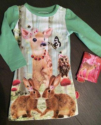 De Kunstboer Jurk Bambi