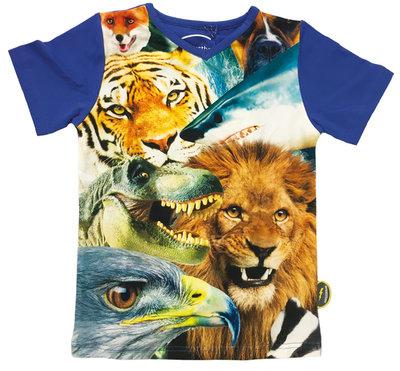 De Kunstboer t-shirt jongens WILD