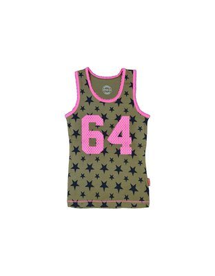 Singlet Army Star girls