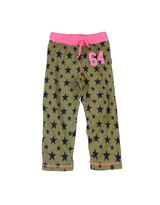 Pyjamabroek Army Star girls