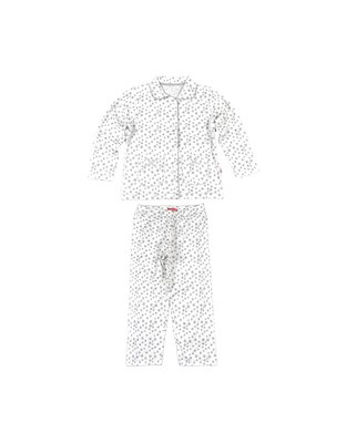 Claesen's Pyjama White Silver Star