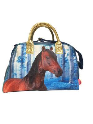 De Kunstboer Grote Tas Paard