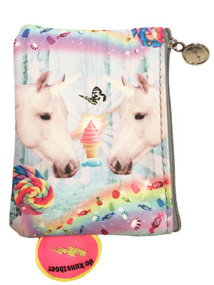 De Kunstboer Portemonnee 2 unicorns