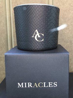 Miracles Geurkaars Zwart Snake
