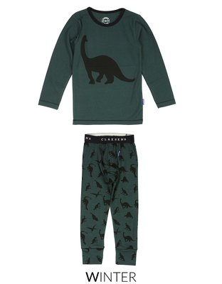 Claesen's Pyjama Green Dino
