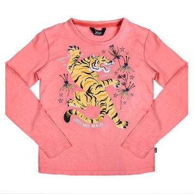 Little Miss Juliette Longsleeve Pink Tiger Elvy