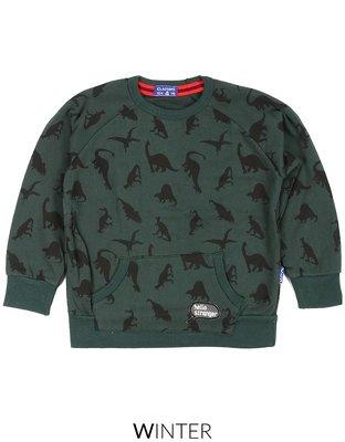Claesen's Sweater Green Dino