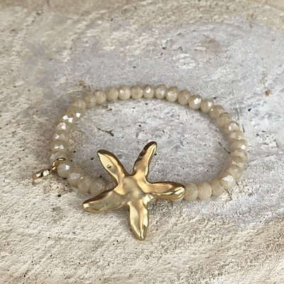 Miracles Armband Sea Star Light Gold