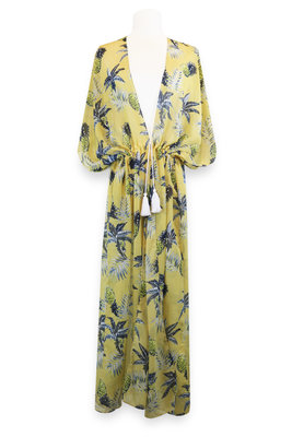 Miracles Beach Dress Hawai Yellow