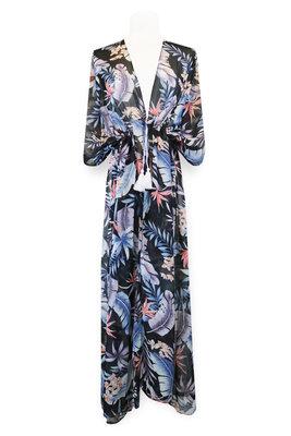Miracles Beach Dress Hawai Blue Grey