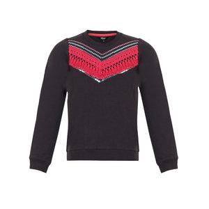 LMJ Sweater Pink ruffle
