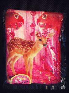 De Kunstboer portemonnee bambi