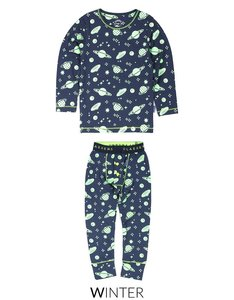 Pyjama Claesen's Glow in the Dark Cosmic bij CEMALI