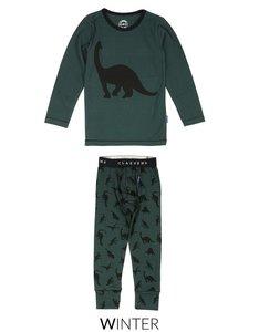 Pyjama Green Dino Claesen's bij CEMALI