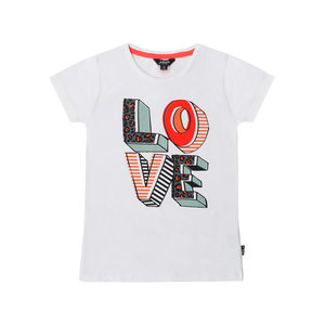 Little Miss Juliette t-shirt LOVE bij CEMALI
