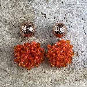 Miracles oorringenHortense Orange