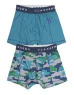 Claesen's 2-pack army boxers heren