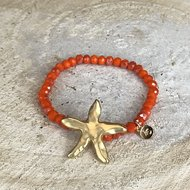Miracles Armband Sea Star Orange bij CEMALI