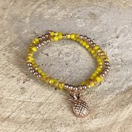 Miracles armband Pineapple